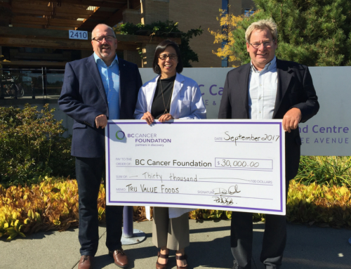 $30,000 Donated to BC Cancer Foundation