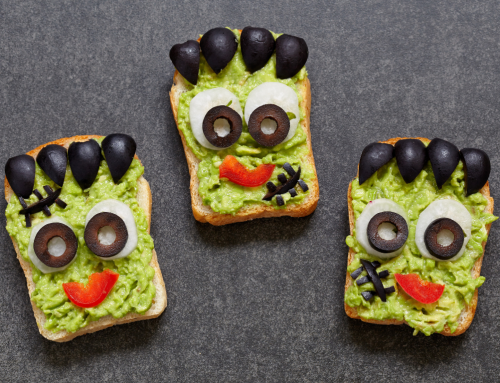 Toasted Avocado Monster Heads
