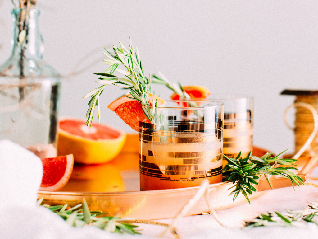 Rosemary Grapefruit Cocktail