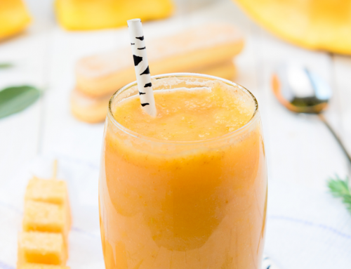 Sunshiny Mango Smoothie (Dairy-free)