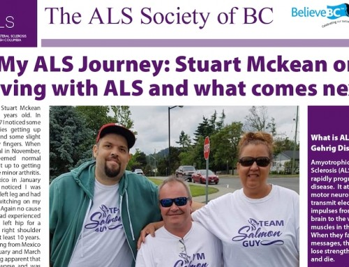 Support Stuart McKean's 2020 Walk to End ALS
