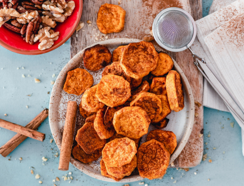 Roasted Cinnamon Sweet Potato Rounds