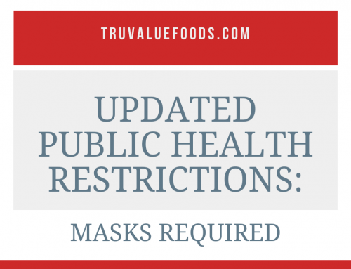 Updated Public Health Restrictions In Effect