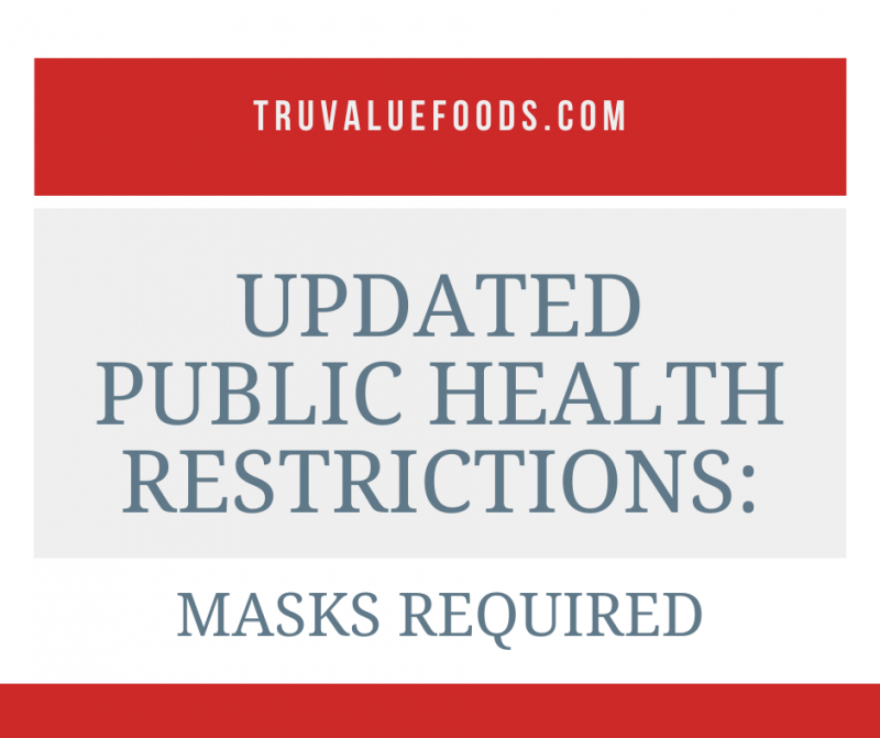 updated public health restrictions